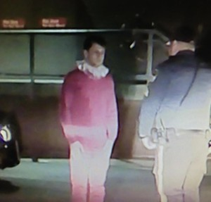 Photograph of New Jersey man being arrested for DWI